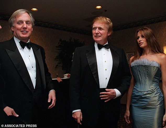 Robert Trump (left), the president's younger brother, is 'very ill' and has been admitted to the hospital in New York
