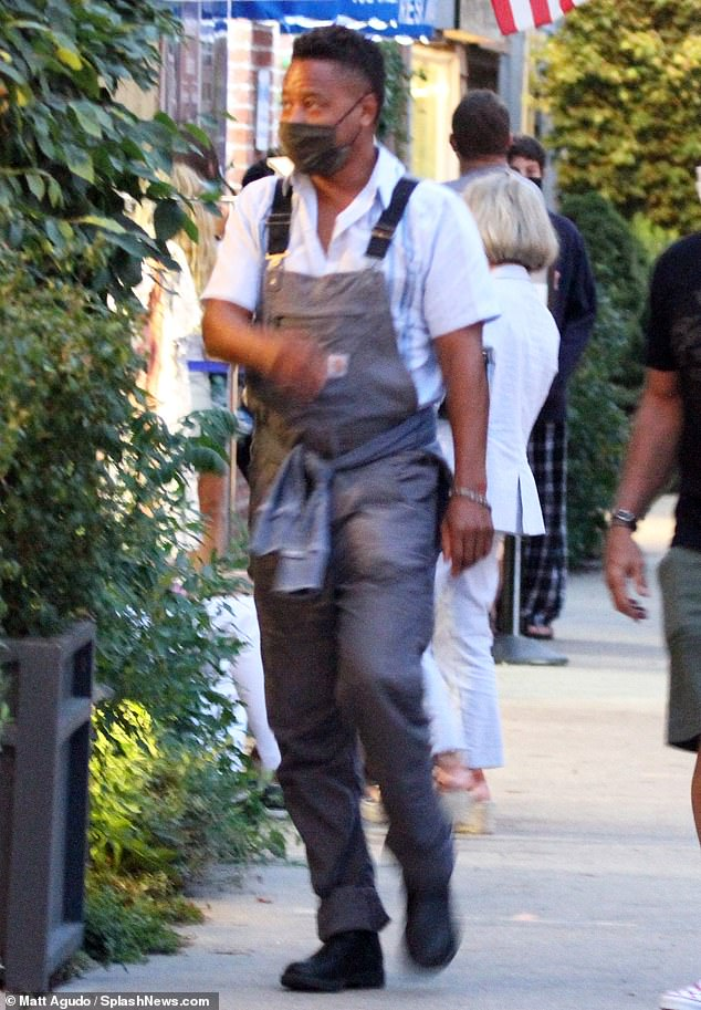 Cuba Gooding Jr has dinner in Hamptons after court appearance