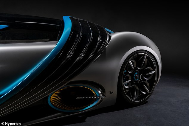 Aerodynamic vents help with high-speed cornering and double as solar panels that can change position to match the trajectory of the sun