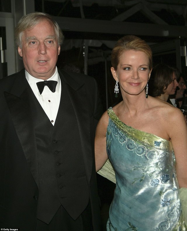 Robert was married to socialite Blaine Trump (pictured) for 25 years until their 2007 divorce. He now lives in Long Island with wife Ann Marie Pallan