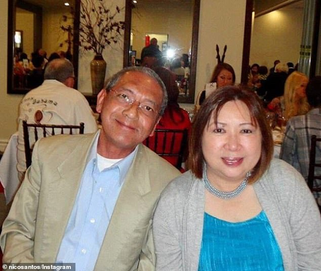 Limousine driver Calixto Villanueva, 67, (left) contracted COVID-19 after driving around Brazilian diplomats who were guests at President Trump's Mar-a-Largo resort back in early March. He died on March 27,  His wife, Tita Santos, (right) also become infected with the virus, but survived