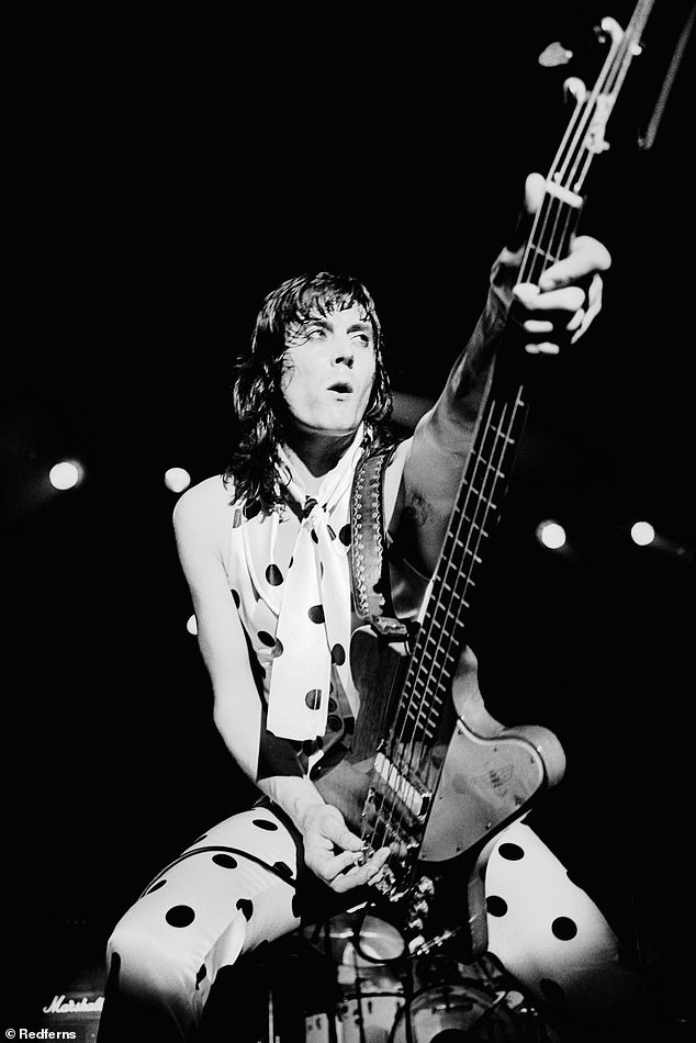 Icon:UFO bass player Pete Way has died aged 69 after suffering 'life-threatening' injuries in an accident two months ago which eventually led to his death