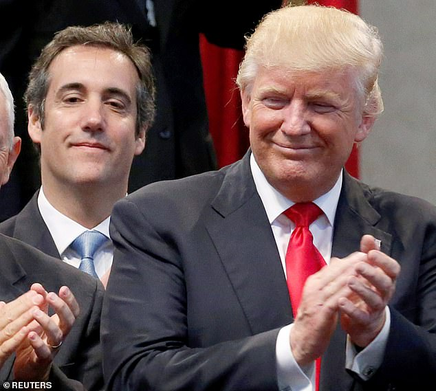 Cohen released the forward of his upcoming book 'Disloyal,' about his longtime friendship with Donald Trump where he claimed he witnessed the 'golden showers' incident and helped Trump commit tax fraud, create a secret back channel to Vladimir Putin and lie to Melania