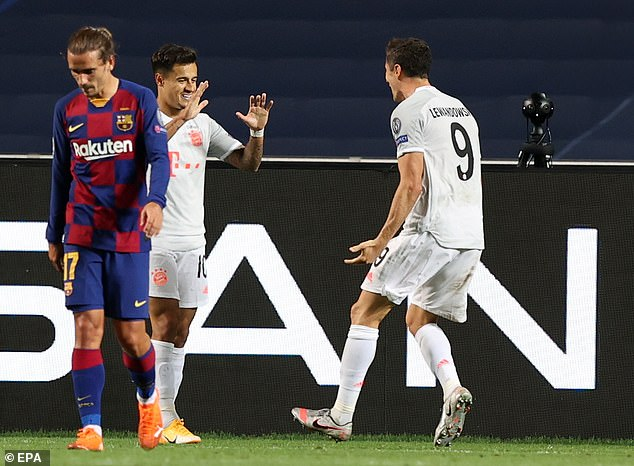 Philippe Coutinho showed no mercy for Barcelona after contributing to their humiliating loss