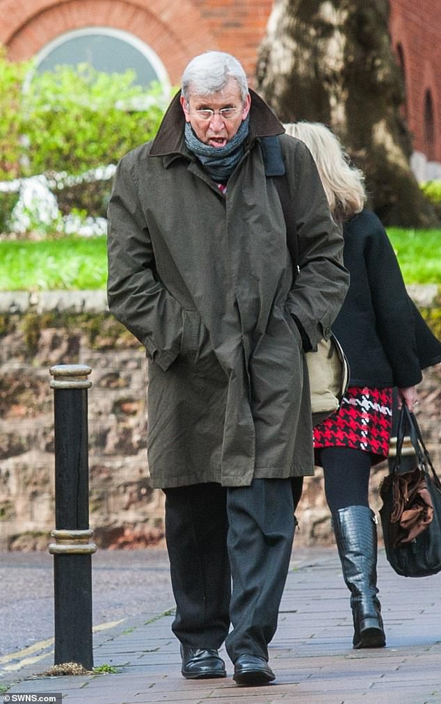 His 'outwardly prestigious life' was based on lies. Jon Andrewes, 67, (pictured) pleaded guilty to two counts of fraud after he told 'staggering lies' about his academic qualifications and experience to win a string oftop-level positions in the NHS
