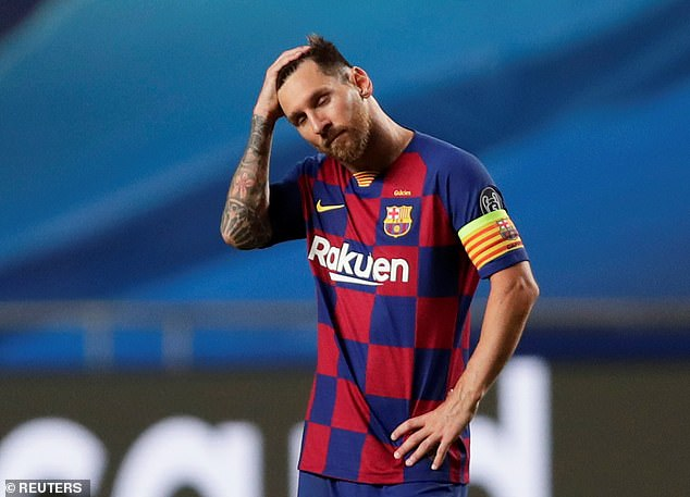 Even Lionel Messi could not escape the criticism and was graded zero by AS for his display