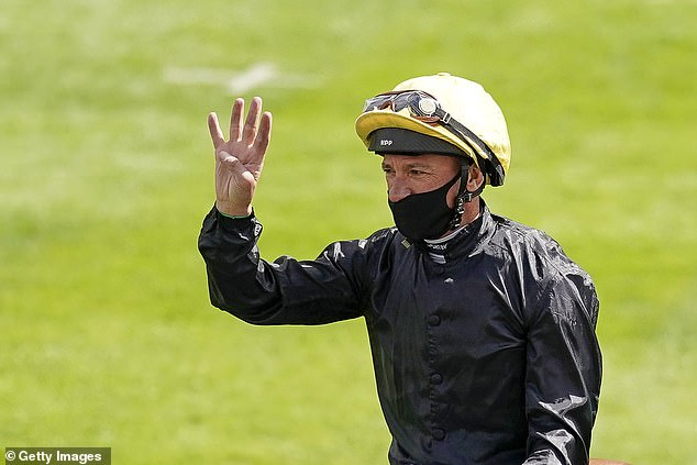 Dettori rode Palace Pier to his first win and was impressed by theJohn Gosden-trained runner