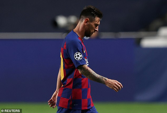 Messi'scurrent £635million buy-out clause is a concern for most potential suitors this summer