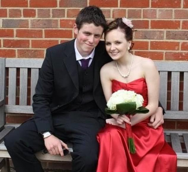 Pc Andrew Harper got even closer to Lissie (pictured together at the age of 19) when he moved in with her family