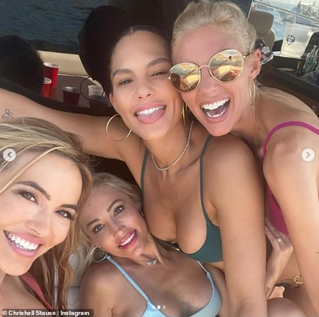 Live well: the girls all seemed to have fun during their day