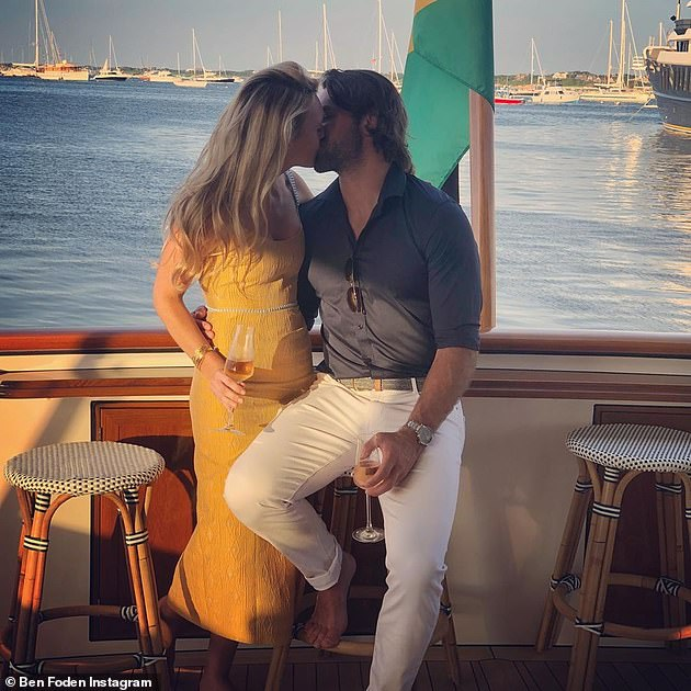 Second wife!  Una's ex Ben called his whirlwind marriage to Jackie Belanoff Smith 'the best decision of his life' as they toasted a year of marriage earlier this month