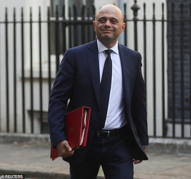 Sajid Javid, 50, left in a February reshuffle after Boris Johnson ordered him to fire his team of aides