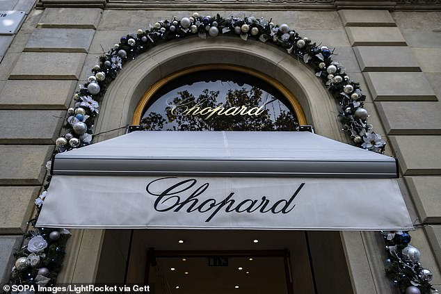 Gallus, who says she worked at the company for five years until she was fired in 2019, has accused her boss and Chopard of supporting a 'sex for dollars' culture and claimed her firing was retaliatory. It is not clear from the complaint if Scheufele or Gallus ever had sex with any of their clients