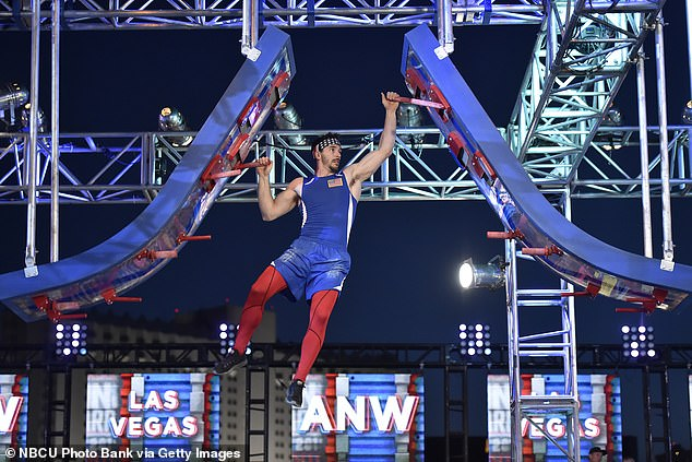 Allegations: The legal proceedings concern American Ninja Warrior winner Andrew 'Drew' Drechsel (pictured), following his arrest earlier this month on a series of child sex crime charges, including luring an underage girl for sex and manufacturing child pornography