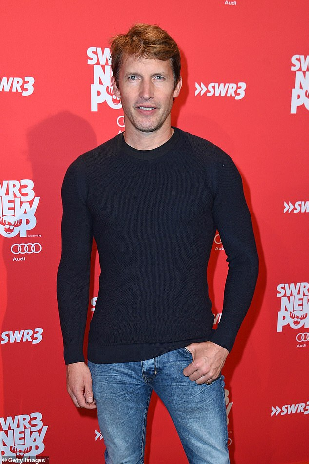 Oh no!James Blunt has admitted he previously contracted 'sailor's disease' scurvy after only eating chicken and mince for eight weeks straight