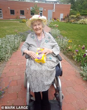 Angela Hutor, 107, has lived through both World Wars and five respiratory pandemics - including the Spanish Flu in 1918
