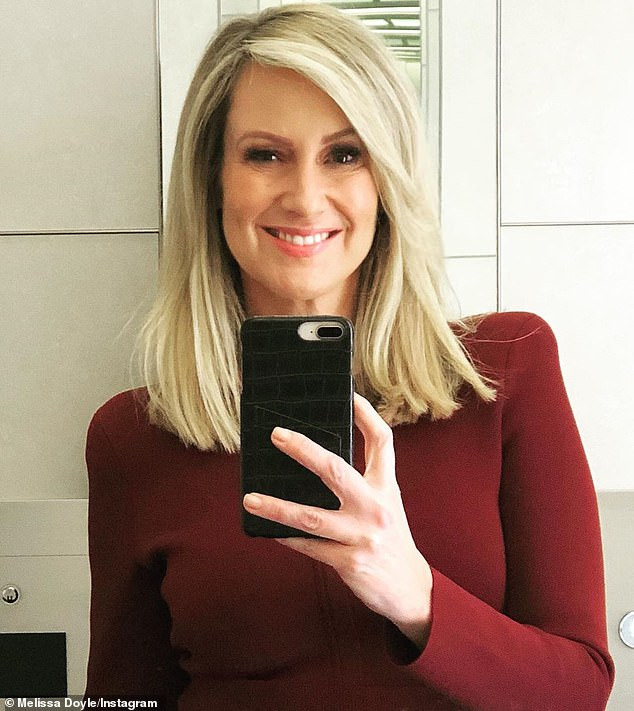 Dignified: Melissa, 50, said in a statement: 'For 25 years, I have called Channel Seven home. I've had the privilege to share stories that mattered, meet incredible people and be there for significant moments in history'
