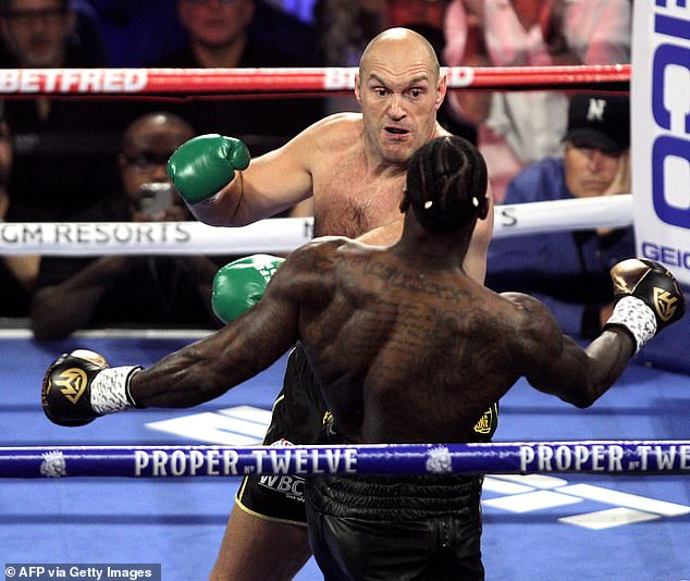 Wilder is set for a third bout against Tyson Fury after being defeated in the February re-match