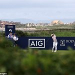 Germany's Sophia Popov takes three-shot lead into the final round at AIG Women's Open