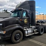 UPS truck driver, 49, 'shot at seven cars driving along Oregon interstate and wounded one woman'