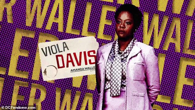 Round two: Viola Davis retuns as government agent Amanda Waller