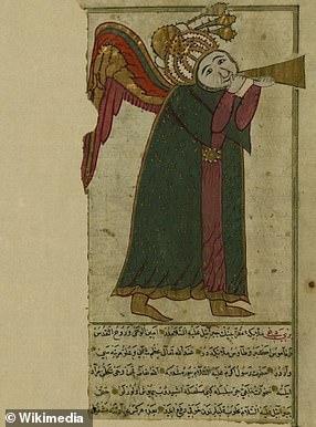 The archangel of judgement Israfil
