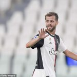 New Barcelona arrival Miralem Pjanic tests positive for coronavirus