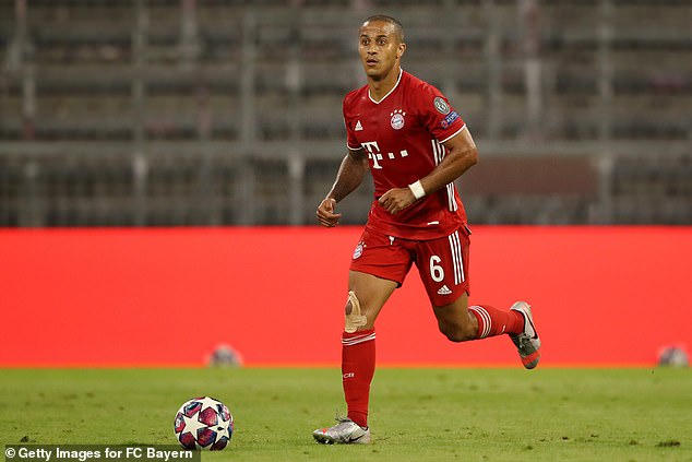 Bayern Munich midfielder Thiago Alcantara has been heavily linked with a move to Liverpool