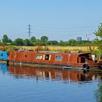 One of a kind sustainable houseboat located in Regents Canal, London, on the market for £149,950