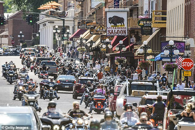 Two dozen coronavirus cases detected in South Dakota, Nebraska and Minnesota have been linked to the Sturgis Motorcycle Rally held from August 7 to 16