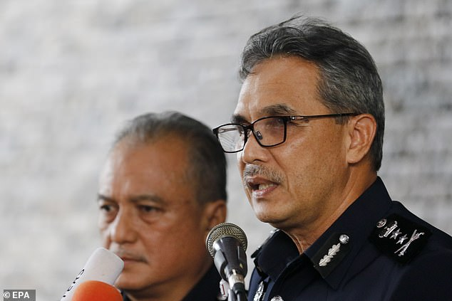 The chief of the local police, Mohamad Mat Yusop, was the first witness called in the investigation in Seremban today, held a year after his disappearance.