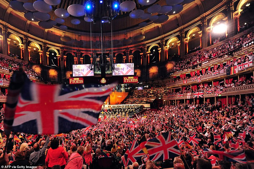 The Last Night of the Proms traditionally leads up to a celebration of British patriotism, which has sometimes led to criticism from Left-wing critics