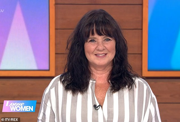 New romance?: Coleen Nolan revealed last month that she has been messaging a younger man on social media and confessed that it is 'nice to have a flirt'