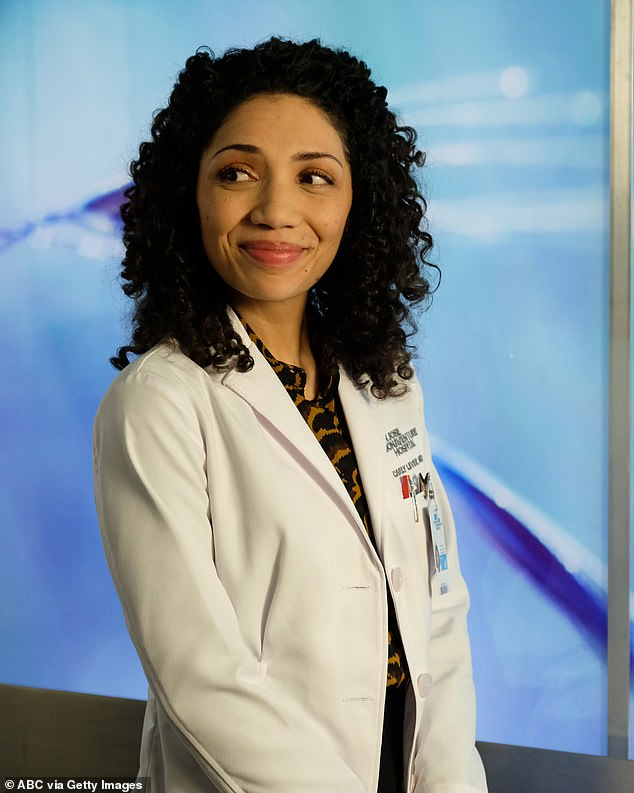 New role: She worked on ABC's The Good Doctor, but it was recently announced that she may not be returning as a series regular