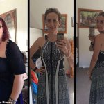 Mum-of-two Jo Lloyd, 42, debuts her stunning new figure after she went from a size 20 to a size 6