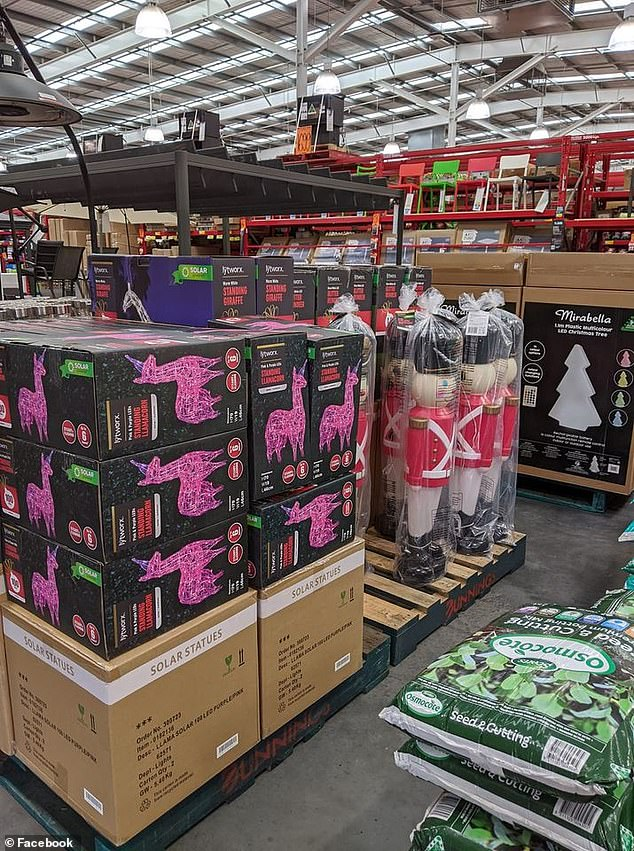 Christmas come early:Bunnings has launched a collection of Christmas decorations, exclusively available in select stores, to brighten the mood amid COVID-19