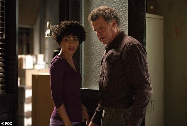 Fury: After a fan took to social media to express how much she appreciated the relationship between Nicole's character Astrid and Dr. Walter Bishop (John Noble) and how he could never get her name correctly , the Alabama native reported her issue with the joke