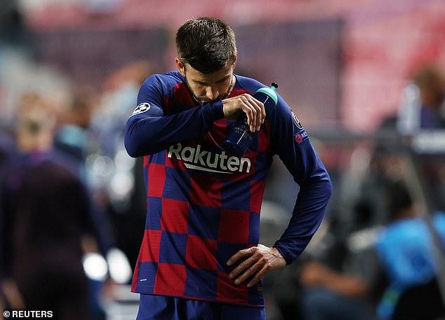 Gerard Pique remains Barca's best defender so Koeman can't afford to lose him