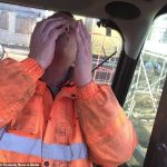 Builder, 58, gets workmates to pull out his teeth with PLIERS