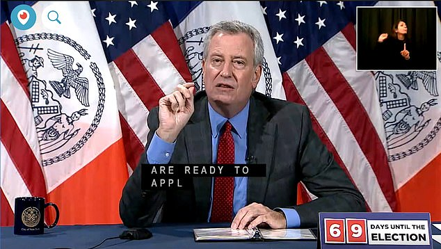 New York City Mayor Bill de Blasio revealed in a press briefing Wednesday that at least 20 percent of new coronavirus cases in the city are linked to people who traveled to the states on the 14-day quarantine list. Travelers from these states are asked to quarantine for two weeks