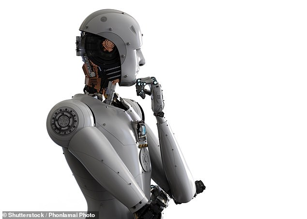 An engineered created 'AI Clone of Jesus' by feeding artificial intelligence the King James Bible, resulting in interesting and somewhat horrifying scriptures. George Durendal used a natural-language processing system to replicate the ancient words without exactly copying the text (stock photo)