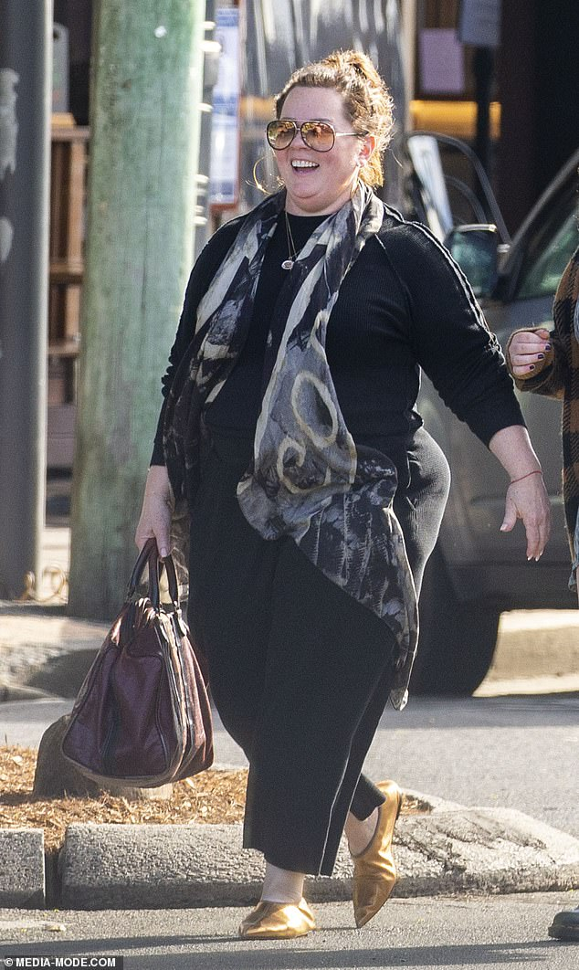 Birthday girl: On Wednesday the Hollywood star was spotted enjoying a spot of shopping as she celebrated her 50th birthday