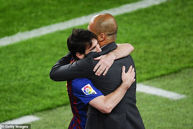 Special meeting between Messi and Pep Guardiola could be considered at Etihad