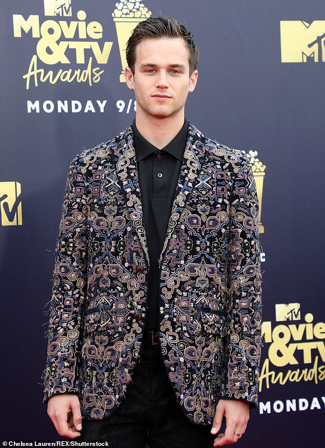 Former Flame: The singer's last serious relationship was with Brandon Flynn in 2018, they split in 2019 (Brandon pictured in 2018)