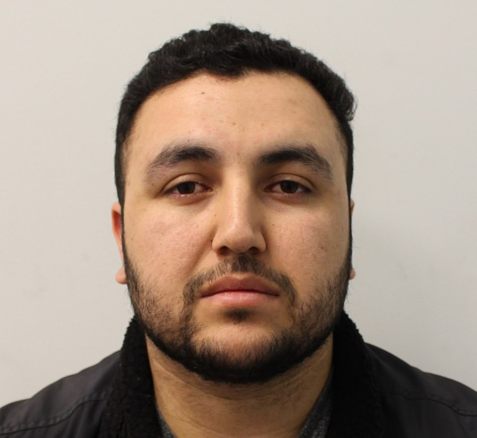 Imran Safi turned up unannounced at his sons' foster home in Coulsdon, south London , last Thursday where he assaulted their foster mother and threatened her with a knife