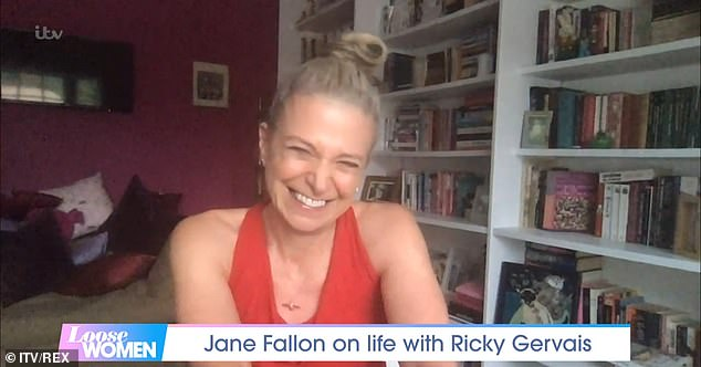 Candid:Just a few weeks ago, Jane detailed the couple's lives before Ricky became famous, and spoke about how she feels about going from having no money to being rich
