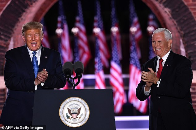'We have spent the last four years reversing the damage Joe Biden inflicted over the last 47 years,' Trump will say in his remarks, adding: 'Their agenda is the most extreme set of proposals ever put forward by a major party nominee'
