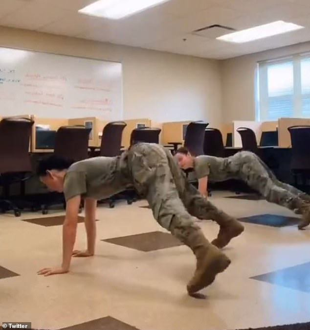 Some members of the military community condemned a TikTok video showing two uniformed female soldiers performing a dance to the song 'WAP' by Cardi B and Megan thee Stallion