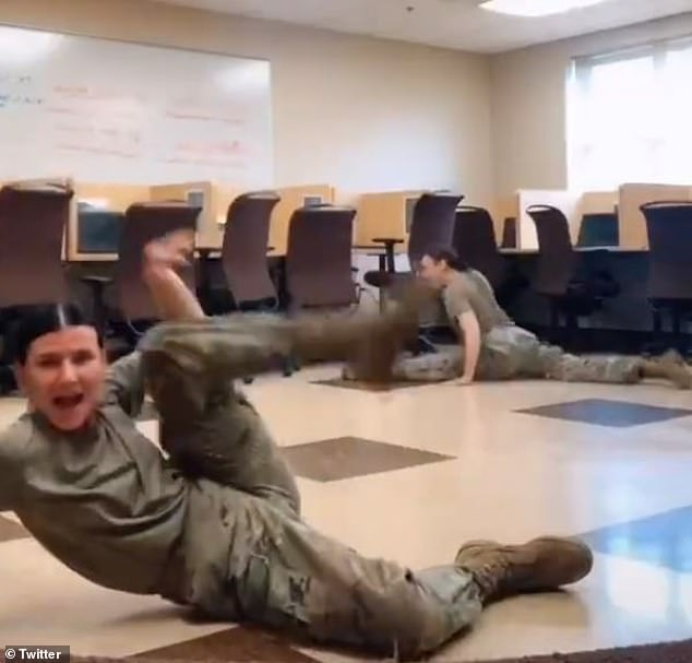UserKamyrnvinson01 shared the video to TikTok, but it has since been made private as it garnered attention on other social media sites and went viral
