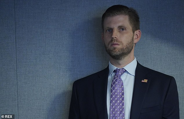 Trump's son Eric Trump said the Trump organization had made `` considerable efforts to avoid even the appearance of a conflict of interest. '' He was with his father at a FEMA briefing on Thursday